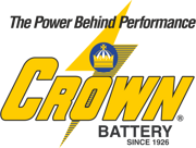 crown logo black letters